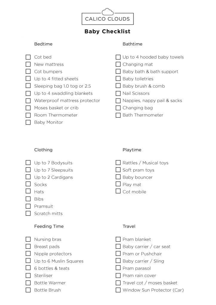 Baby_Checklist