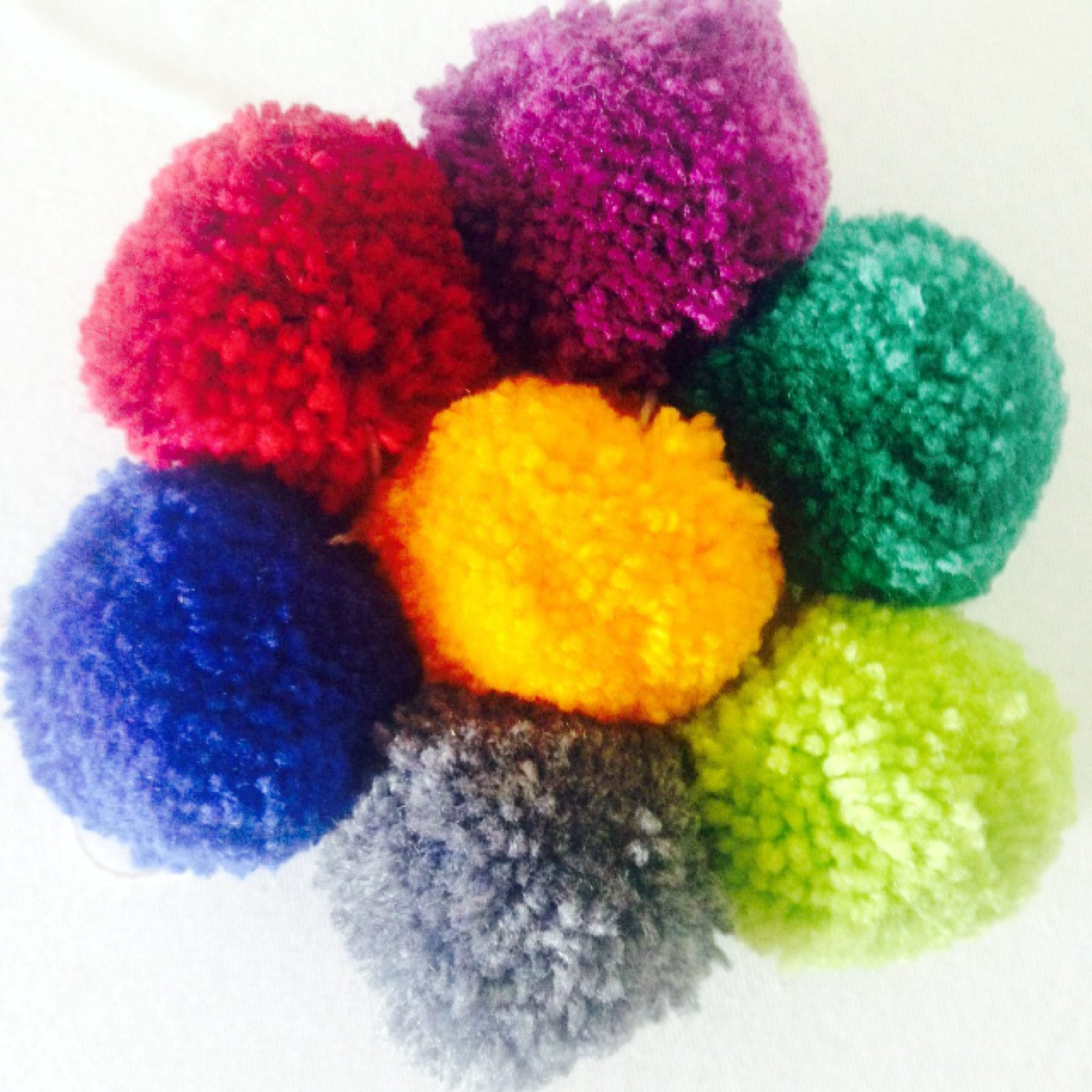 Pom Poms storm Rowheath craft fair