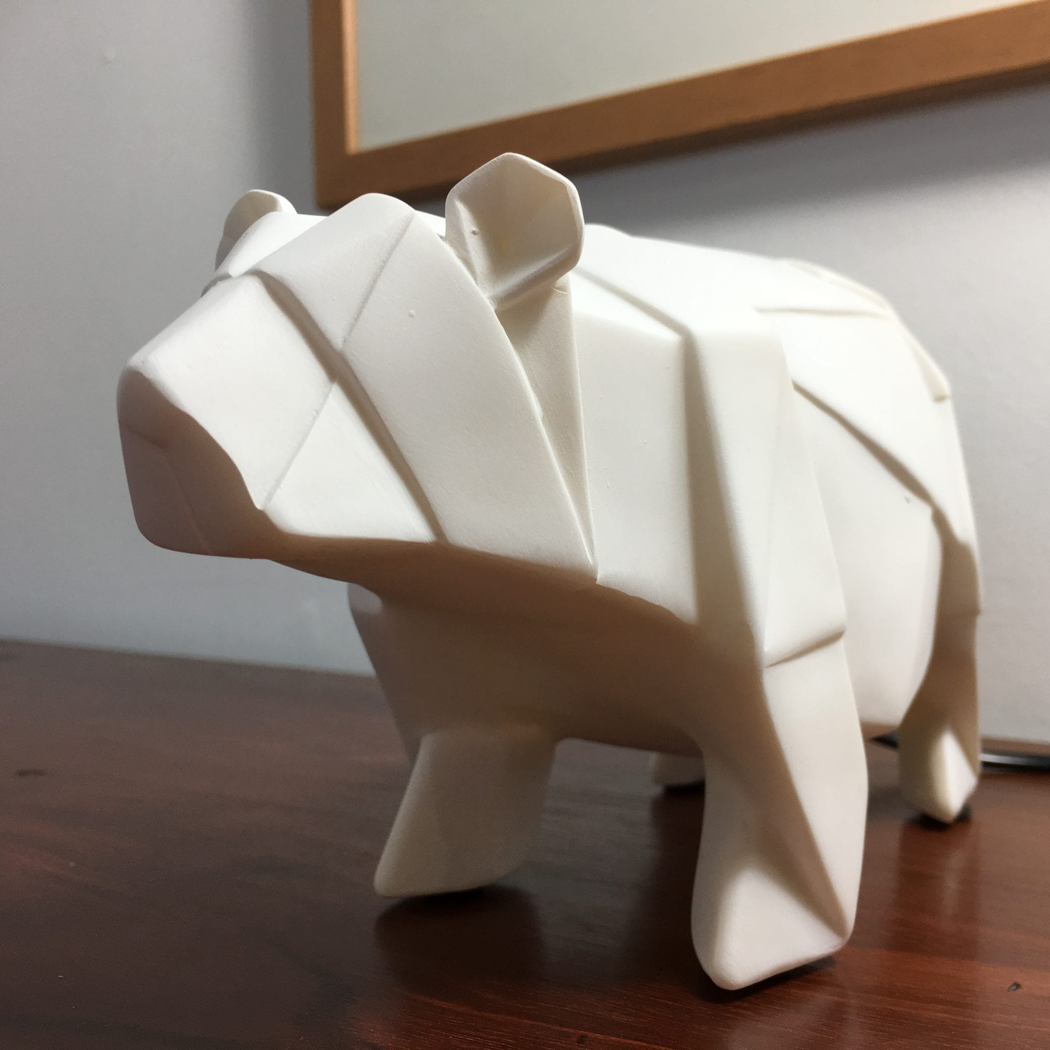 Bear Origami Lamp