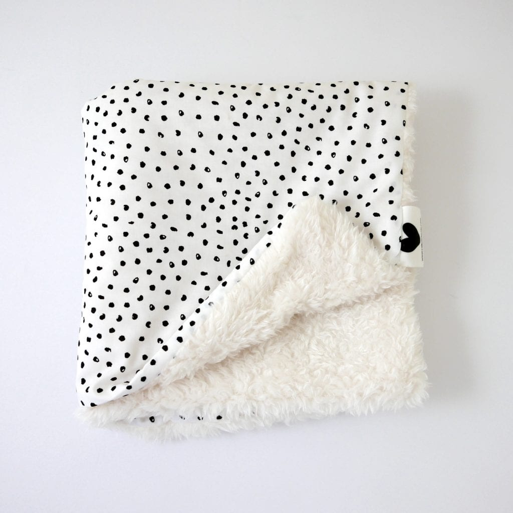 Inky Dots Comforter 4